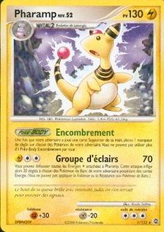 Pharamp niv 52 pv 130 - Pokemon wattouat ...