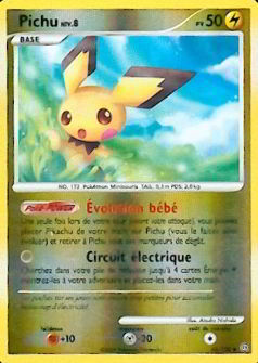 Pichu reverse niv 8 pv 50 - Pokemon wattouat ...