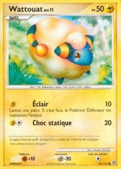 Wattouat niv 11 pv 50 - Pokemon wattouat ...